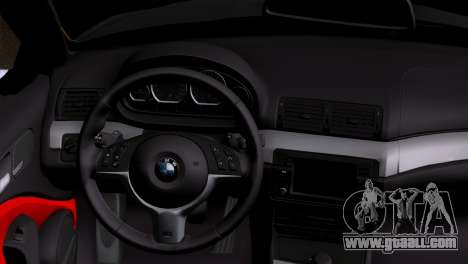 BMW M3 E46 Cabrio for GTA San Andreas back left view