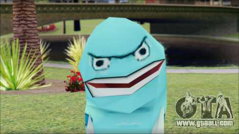 Blufish from Sponge Bob for GTA San Andreas third screenshot