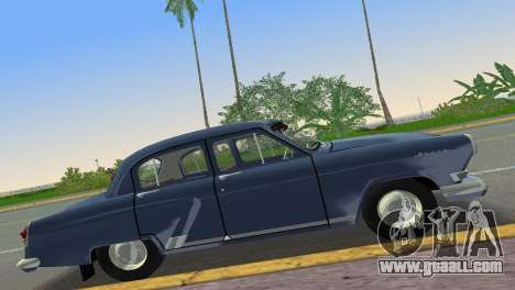 GAZ-21R Volga 1965 for GTA Vice City left view