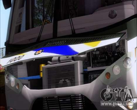 Marcopolo Ideale 770 - Volksbus 17-230 EOD for GTA San Andreas inner view