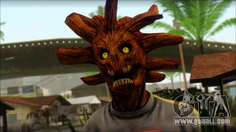 Guardians of the Galaxy Groot v1 for GTA San Andreas third screenshot