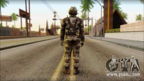 Navy Seal Soldier for GTA San Andreas second screenshot