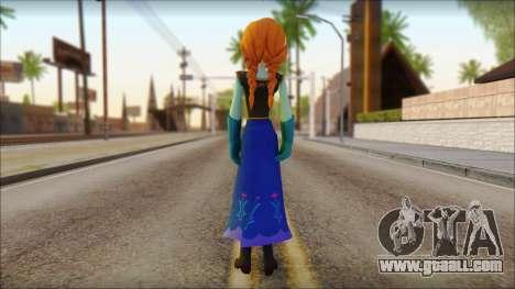 Princess Anna (Frozen) for GTA San Andreas second screenshot