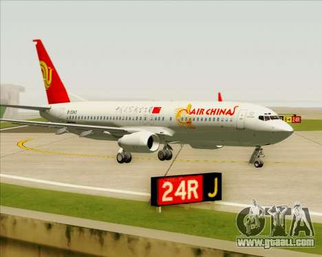 Boeing 737-89L Air China for GTA San Andreas left view