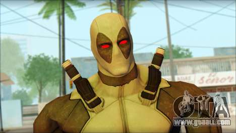 Xforce Deadpool The Game Cable for GTA San Andreas third screenshot