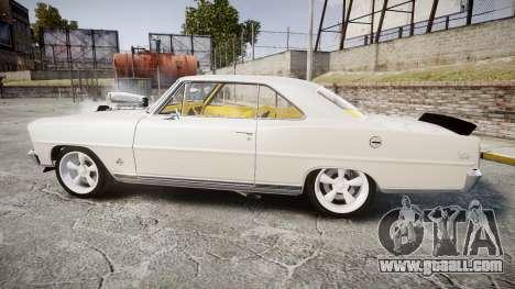 Chevrolet II Nova SS 1966 Custom [EPM] for GTA 4 left view