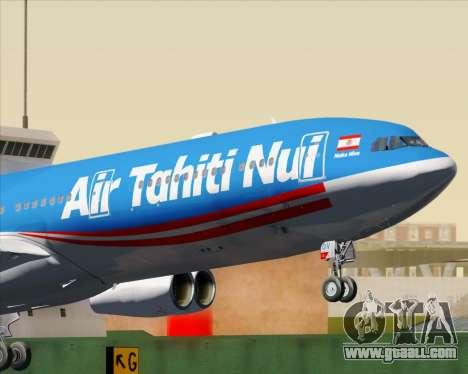 Airbus A340-313 Air Tahiti Nui for GTA San Andreas engine
