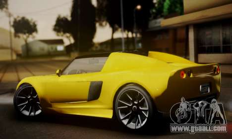 Voltic from GTA 5 (IVF) for GTA San Andreas left view