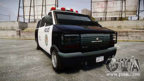 Declasse Burrito Police for GTA 4