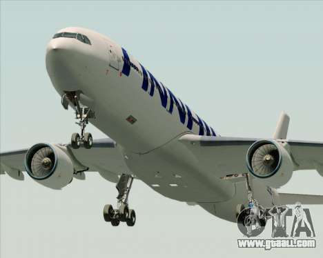 Airbus A330-300 Finnair (Current Livery) for GTA San Andreas side view
