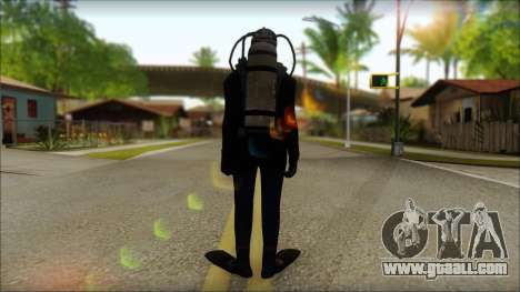 Diver for GTA San Andreas second screenshot