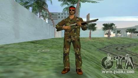 Camo Skin 02 for GTA Vice City second screenshot