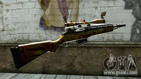 Nitro Sniper Rifle for GTA San Andreas second screenshot