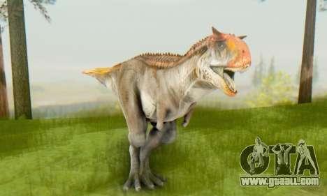 Carnotaurus for GTA San Andreas forth screenshot