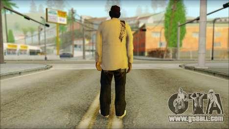 Afro - Seville Playaz Settlement Skin v2 for GTA San Andreas second screenshot