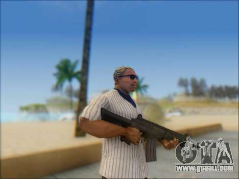 Israeli carbine ACE 21 for GTA San Andreas forth screenshot