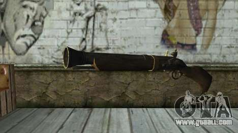 Trabuco from Assassins Creed 4: Freedom Cry for GTA San Andreas