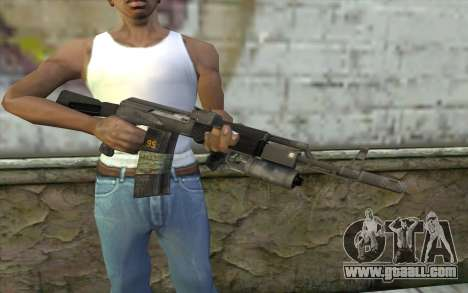 AK-101 with secure our (Battlefield 2) for GTA San Andreas third screenshot