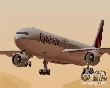 Airbus A330-300 Qatar Airways for GTA San Andreas