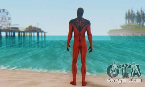 Skin The Amazing Spider Man 2 - Scarlet Spider for GTA San Andreas third screenshot