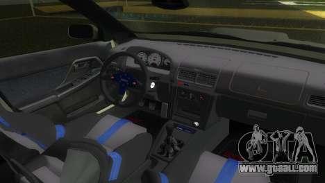 Subaru Impreza WRX STI GC8 Sedan Type 2 for GTA Vice City back view