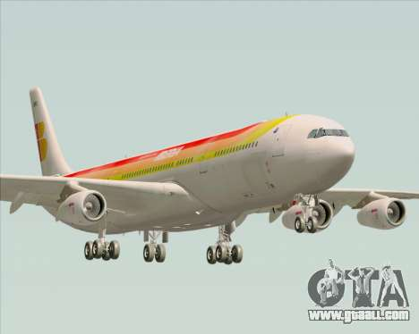 Airbus A340 -313 Iberia for GTA San Andreas