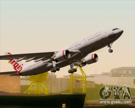 Airbus A330-200 Virgin Australia for GTA San Andreas engine
