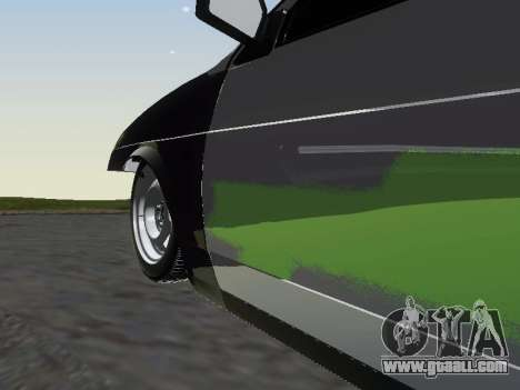VAZ 2109 for GTA San Andreas bottom view