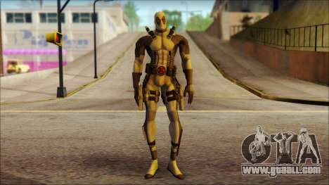 Xforce Deadpool The Game Cable for GTA San Andreas