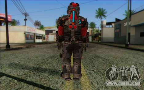 John Carver from Dead Space 3 for GTA San Andreas second screenshot
