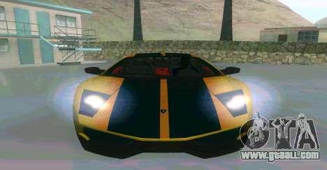 Lamborghini Murcielago for GTA San Andreas left view