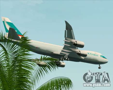 Boeing 747-8 Cargo Cathay Pacific Cargo for GTA San Andreas wheels