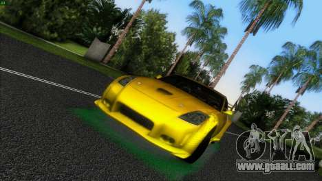 Nissan 350Z Veiside Chipatsu for GTA Vice City left view