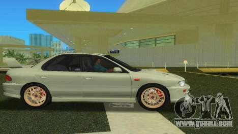 Subaru Impreza WRX STI GC8 Sedan Type 2 for GTA Vice City right view