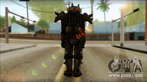 Enclave Tesla Soldier from Fallout 3 for GTA San Andreas second screenshot