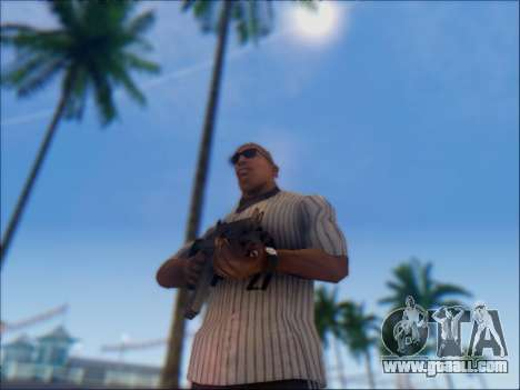 Israeli carbine ACE 21 for GTA San Andreas sixth screenshot