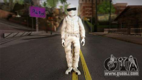 The Stig from Top Gear for GTA San Andreas