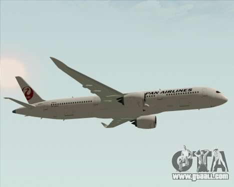 Airbus A350-941 Japan Airlines for GTA San Andreas inner view