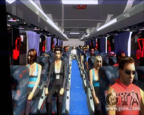 Marcopolo Ideale 770 - Volksbus 17-230 EOD for GTA San Andreas interior