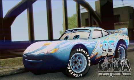 Lightning McQueen Dinoco for GTA San Andreas