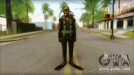 Diver for GTA San Andreas