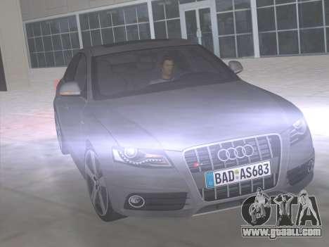 Audi S4 (B8) 2010 - Metallischen for GTA Vice City side view