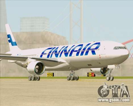 Airbus A330-300 Finnair (Current Livery) for GTA San Andreas back left view