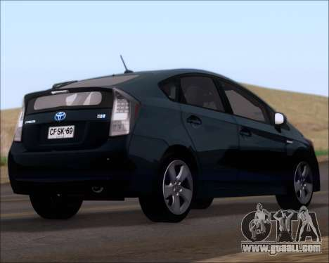 Toyota Prius for GTA San Andreas left view