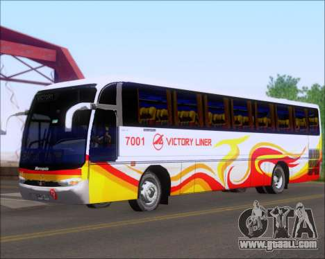 Marcopolo Victory Liner 7001 for GTA San Andreas left view
