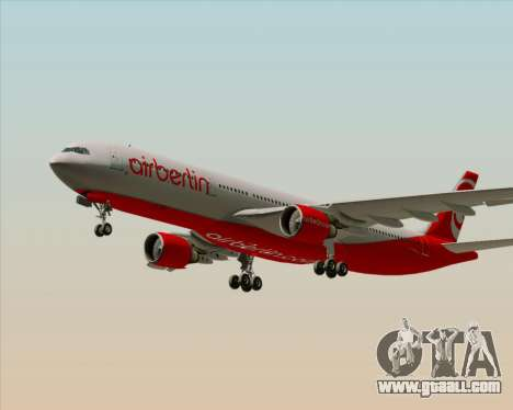 Airbus A330-300 Air Berlin for GTA San Andreas engine