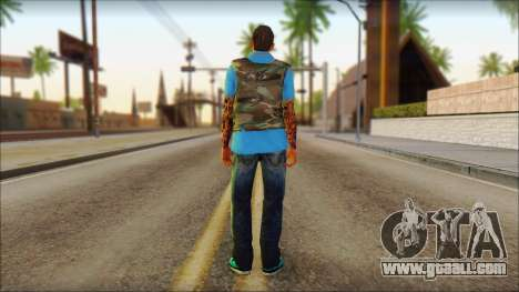 Skin Sicario GTA V By Cesar Hardy for GTA San Andreas second screenshot