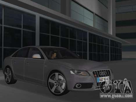 Audi S4 (B8) 2010 - Metallischen for GTA Vice City