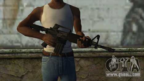 TheCrazyGamer M16A2 for GTA San Andreas third screenshot