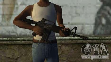 TheCrazyGamer M16A2 for GTA San Andreas third screenshot